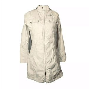 The North Face Hyvent DT trench coat jacket Small